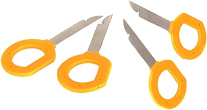 Ketofa Radio Stereo Removal Tool Keys Set for Audi Volkswagen Mercedes, Car CD DVD Host Key Disassembly Tool