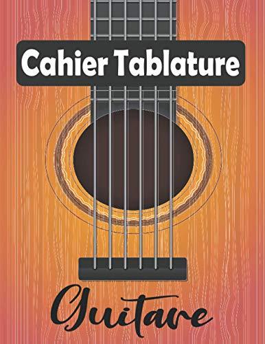 Cahier Tablature Guitare: 7 tablatures et 6 diagrammes d'accords par page. Idéal pour les étudiants, amateurs et professionnels.