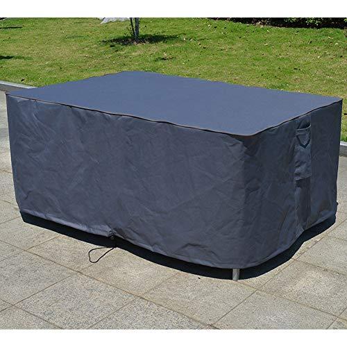 YMYP08 Patio Tafels En Stoelen Regenhoes 600D UV-bestendig Oxford Doek Meubeldeksel, Gemakkelijk te bevestigen Stofhoes