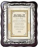 Graduation Doctor of Optometry College University School Congratulation Gift Poem Silver Decorative Desk Frame Plaque Graduate Present Him Her Unique Gift Ideas