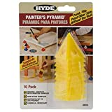 painting cones - Hyde Tools 43510 Painters Pyramid (10 Pack), 1 Pack, Yellow
