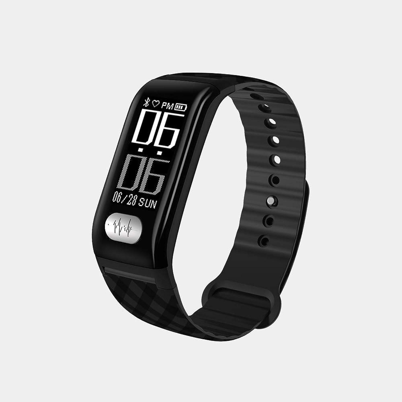 QMKJ Fitness-Uhr intelligenter Gesundheitstracker für Herzfrequenz-Sleep Blood Pressure Monitor Pedometer Tracker für IOS und Android für Mnner Frauen und Kinder Waterproof IP67 Touchscreen