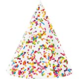 Confetti Sprinkles Party Hat, 24 ct