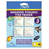 API Weekend Pyramid Fish Feeder 3-Day Automatic Fish Feeder 1.4 oz 4Count Pack