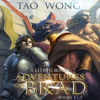 Adventures on Brad, Books 1 - 3 cover art
