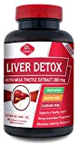 Olympian Labs Liver Detox with Milk Thistle Extract 200 Mg, 60 Count
