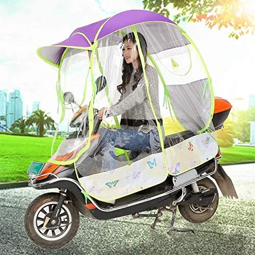 ZYQDRZ A Prueba De Lluvia Y Protector Solar Parabrisas De Motocicleta Lluvia...