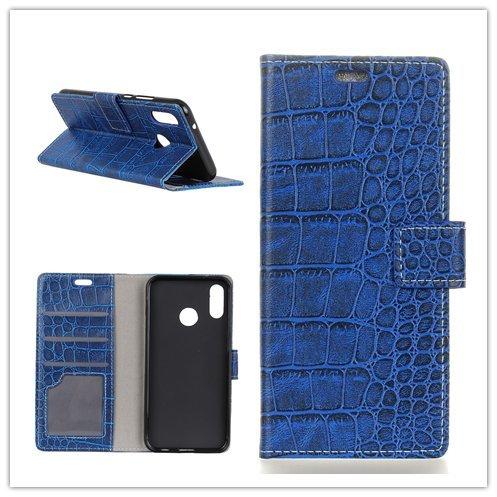 Funda® Flip Portefeuille Coque pour Asus Zenfone 5 ZE620KL/Asus Zenfone 5z ZS620KL (Bleu)