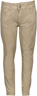 khaki skinny pants for school