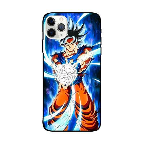 Dragon Ball - Funda de silicona líquida para teléfono móvil, compatible con todos los iPhones, protección integral, estructura de 3 capas-Anime_4_iPhone_11Pro