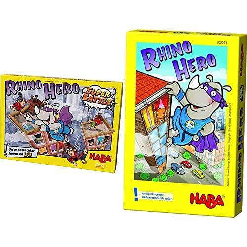 HABA Rhino Hero Super Battle (303205) + Rhino Hero ESP (302273)