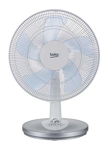Beko EFT5100W Ventilatore da Tavolo, Bianco