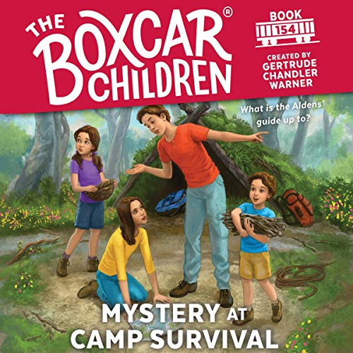Mystery at Camp Survival audiobook cover art