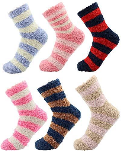 CityComfort Calcetines Calentitos Mujer Y Niños | Pack De Calcetines Mujer | Calcetines...
