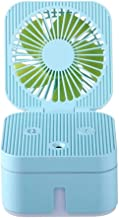 Fan, Portable Mini USB oplaadbare bevochtiging Spray Fan bevochtiging Fan Combo for kleine bureau en een Dagelijks ventila...