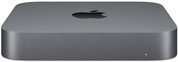 Apple Mac Mini Desktop Computer, 3.2GHz 6-Core Intel Core i7, 16GB Memory, 256GB SSD, Gigabit Ethernet (Late 2018 with a 2...