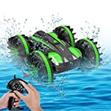 Seckton Toys for 5-10 Year Old Boys Amphibious RC Car for Kids 2.4 GHz Remote Control Boat...