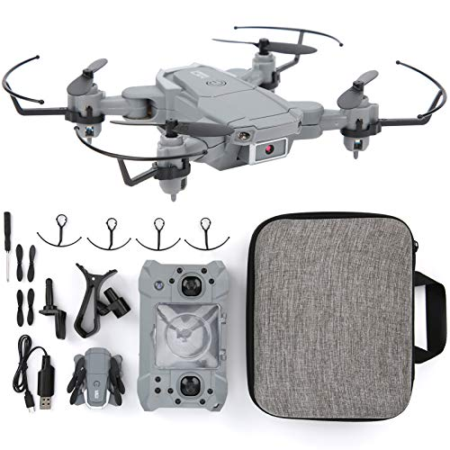 VGEBY KY905 Drone con cámara 4K, Mini Drone Plegable de Alta definición Drones con Juguete LED Quadcopter para niños