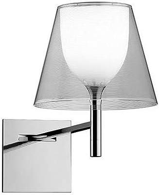 Flos Ktribe W Lampada, E27, 70 watts, Cromo/Trasparente