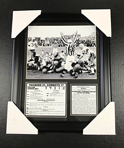 11x14 Framed & Matted 1967 Ice Bowl Packers Championship Game 8x10 Photo