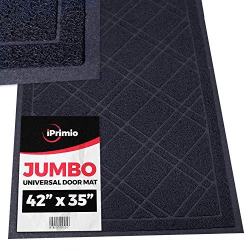 SlipToGrip - Universal Jumbo Door Mat with DuraLoop -...