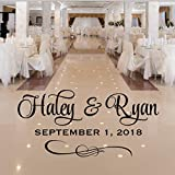 Custom Dance Floor Sticker, Personalized Wedding Dance Floor Decal, Over 30 Colors & Several Sizes