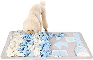 Mumoo Bear Dog Snuffle Mat for Small Middle Large Dogs Nosework Feeding Mat Pet Activity/Toy/Play Mat, Great for Stress Re...