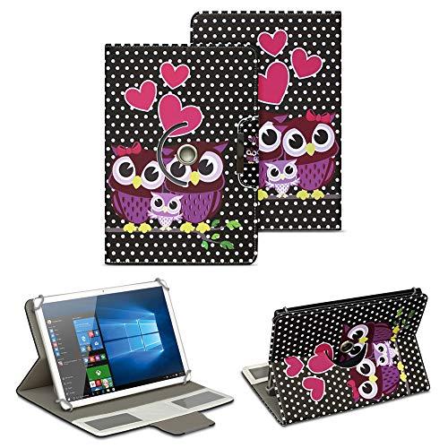 NAUC Schutz Hülle für 10-10.1 Zoll Tablet Tasche Schutzhülle Case Cover Bag, Motiv:Motiv 11, Tablet Modell für:Medion Lifetab X10300