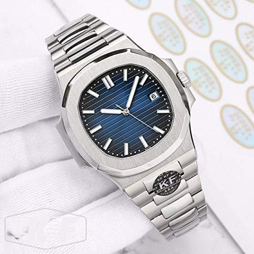 CHQSMZ Brand Neue Rose Gold Luxus Herren Edelstahl Mechanische Automatische Schwarz Blau Nautilus 5711 Designer Uhren 5