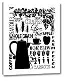 Culinary Love 2-2 by Leslie Fuqua - 16' x 20' Canvas Art Print Gallery Wrapped - Ready to Hang