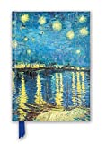 Vincent van Gogh: Starry Night over the Rhône (Foiled Blank Journal) (Flame Tree Blank Notebooks)