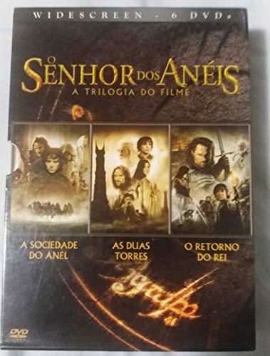 Box DVD Trilogia: O Senhor dos Anéis (6 DVDs)