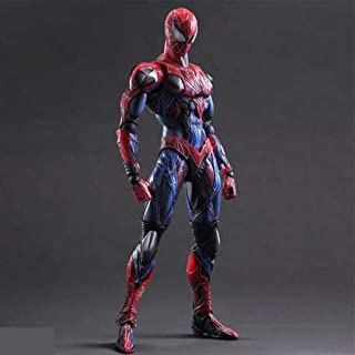 Avengers Spiderman Cartoon Characters Statues Anime Model Crafts Exquisite Birthday Gift Toys 26cm