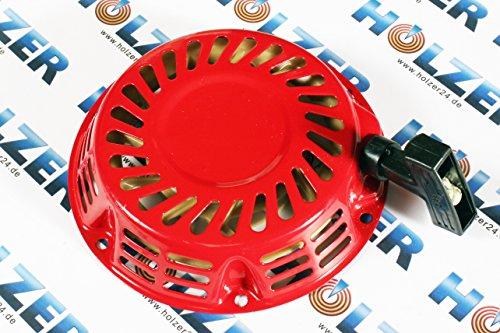 HOLZER Seilzugstarter Seil Zug Starter für 5,5 & 6,5 PS Benzinmotoren und Stromerzeuger/Rot