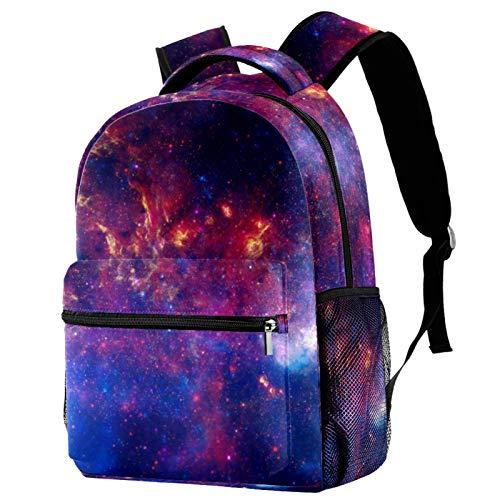 Galaxy Space Nebulae Mochila para adolescentes, libros escolares, viajes, mochila informal