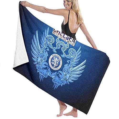 Custom made Chelsea Logo Toalla rectangular para tomar el sol Toalla de playa Toalla de microfibra Alfombra de picnic Manta de viaje 70 x 140 cm