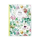 グリーティングライフ デザイナーズギルド 手帳 2020年 1月始まり ウィークリー B6 CD-858-DG イエロー×グリーン