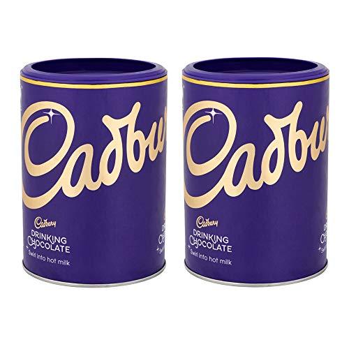 Cadburys Drinking Chocolate Great for Hot Chocolate Drinks x 2