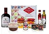 Cesta Gourmet Especial Navidad - 8 Produtos y Cesta – Con Vino de Oporto Tawny