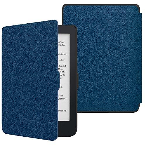 """MoKo Hülle für Kobo Clara HD 6\"""" Case - Die dünnste und leichteste Schutzhülle Smart Cover mit Auto Sleep/Wake für Kobo Clara HD 6 Zoll eReader, Marineblau"""