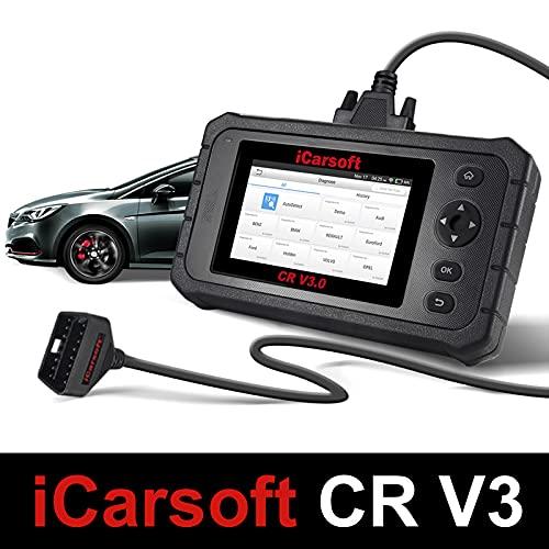 iCarsoft CR V3.0 - Valise Diagnostic Auto Multimarques - Outil Diagnostique Auto Pro Tactile