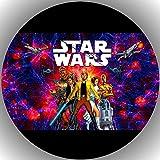Oblea de papel de alta calidad para tarta, diseño de Star Wars K67
