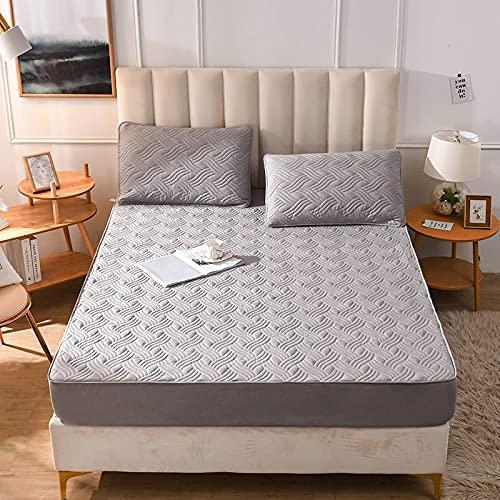 IKITOBI Luxury Bedding - Sábanas bajeras extra profundas (150 x 200 cm)