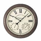 Bickerton Wanduhr & Thermometer 38,1cm