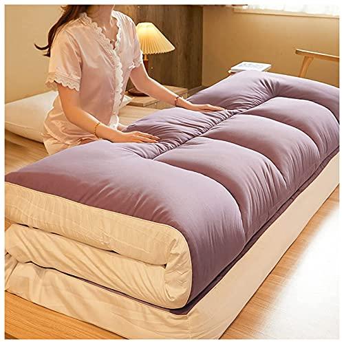 YRRA Japón Tatami Suelo Futón Colchón, Plegable Sleeping Pad Respirable Cómodo Colchón...