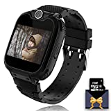 Kids Boys Girls Smartwatch Touch Screen with Games SOS Alarm Calculator Music Player Children Birthday Gifts