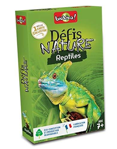 BIOVIVA - Défis Nature - Reptiles - Jeu de société ludique dès 7 ans - 280037