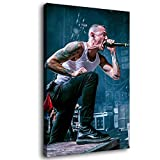 Linkin Park Chester Bennington Leinwand-Kunst-Poster und