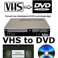 Daewoo df-4150p grabadora de DVD y grabador de VHS VCR combinación * transferencia cintas VHS a DVD