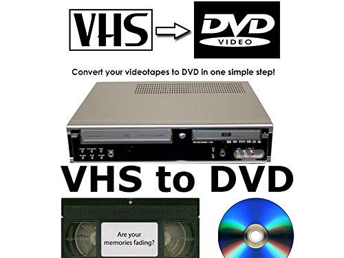 DAEWOO DF-4150P - Registratore DVD e videoregistratore VHS con combinazione per trasferire nastri VHS su DVD